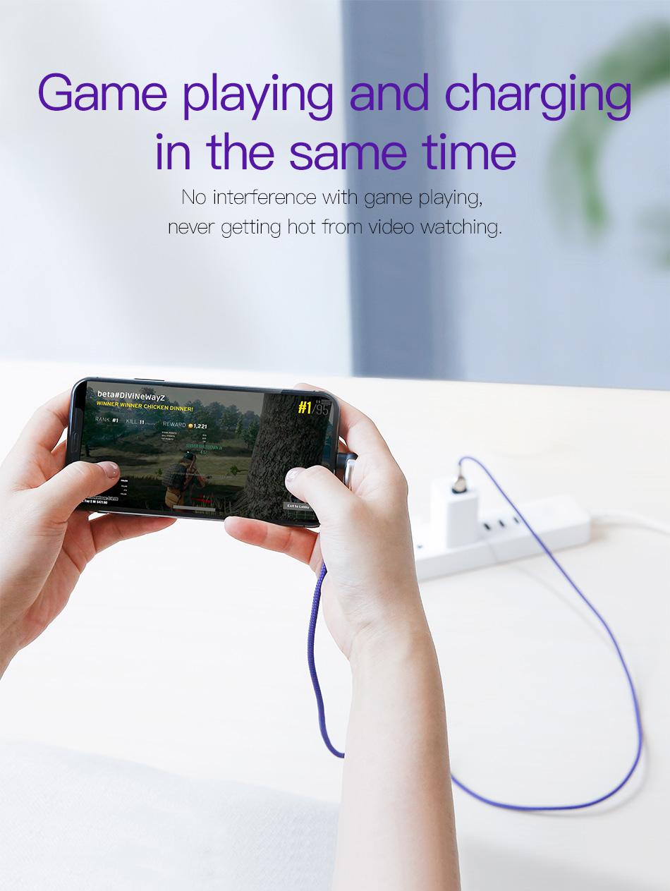 Cáp Sạc Baseus  Mobile Game iPhone 2m 2