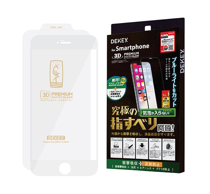Miếng dán Dekey Full 3D Premium iPhone 6