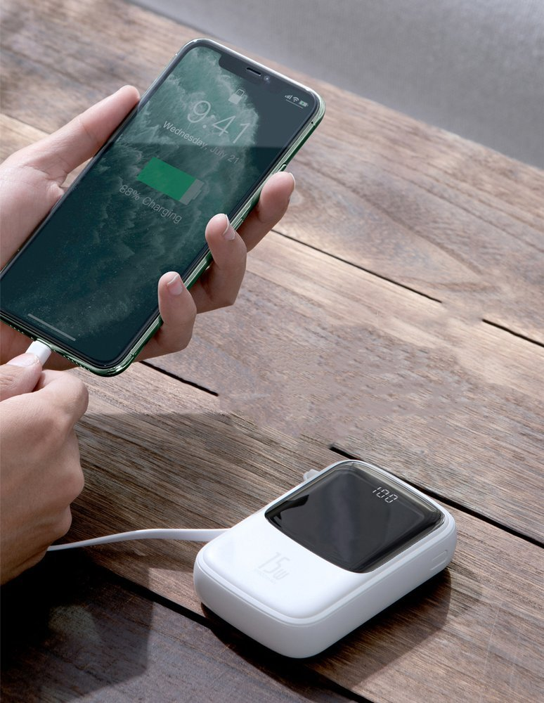 Pin Sạc Dự Phòng Baseus Q pow Digital Display 10.000mAh 6