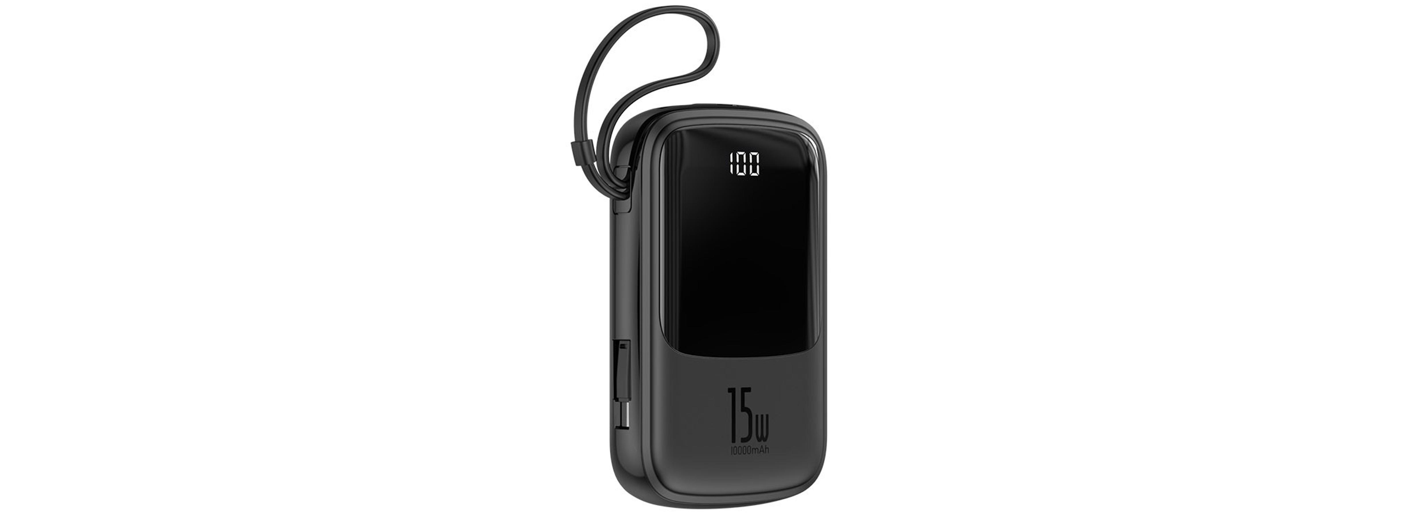 Pin Sạc Dự Phòng Baseus Q pow Digital Display 10.000mAh