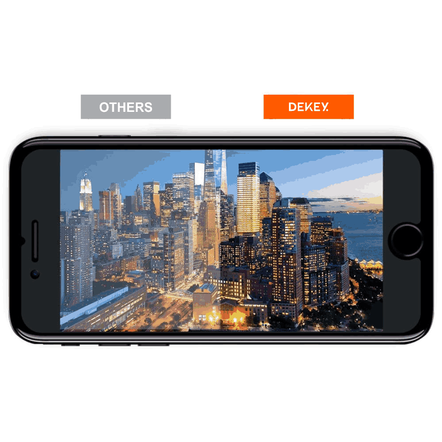 Dekey 3D Master Glass Luxury iPhone  6 / 6S 3