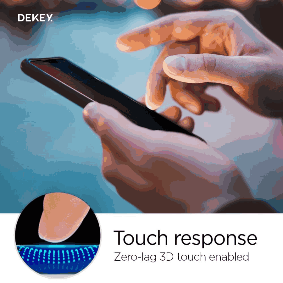 Dekey 3D Master Glass Deluxe iPhone XR 7