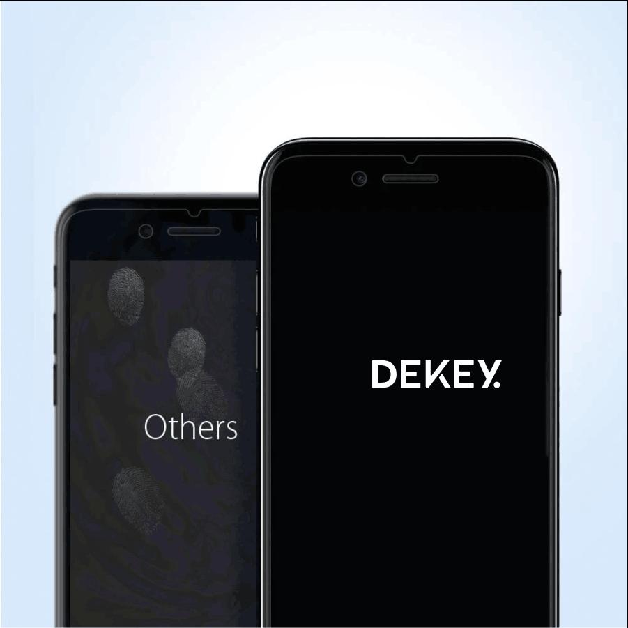 Dekey 3D Master Glass Luxury iPhone  6 / 6S 4