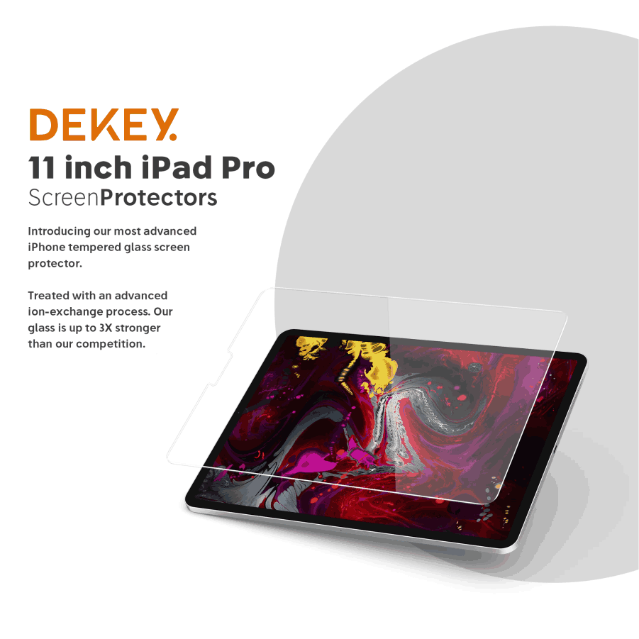 Dekey Master Glass Premium iPad 10.9 inch 7